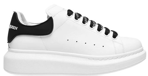 Alexander McQueen Oversized Sneakers - White/Black