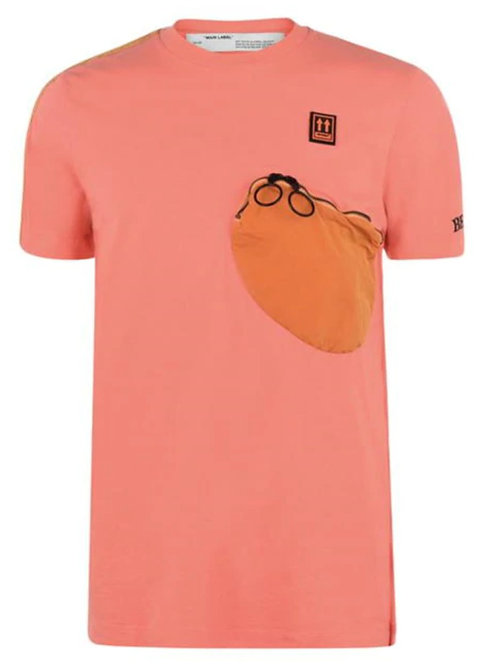 Off-White Parachute T-Shirt / Orange