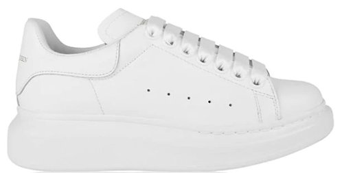 Alexander McQueen Oversized Trainers - White