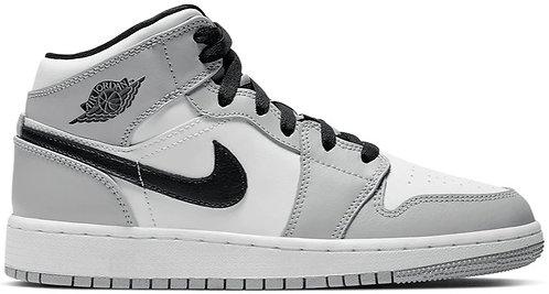 Nike Jordan 1 Mid 'Smoke Grey' GS