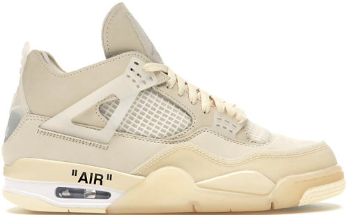 Nike Jordan Retro 4 Off White 'Sail'