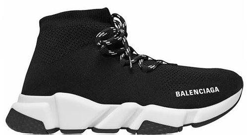 Balenciaga Speed Lace Trainers - White / Black