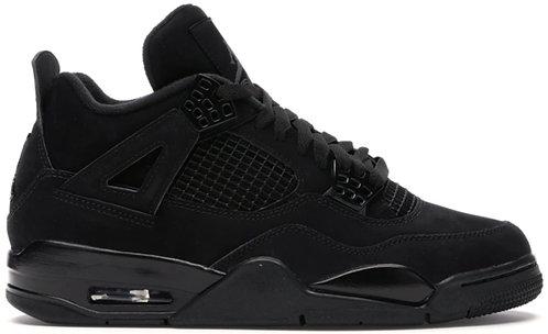 Nike Jordan Retro 4 'Black Cat' GS