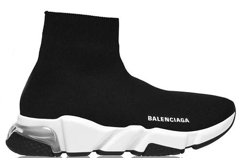Balenciaga Speed Clear Runners - Black / White