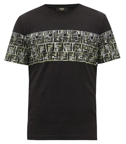 Fendi FF-logo cotton jersey T-shirt