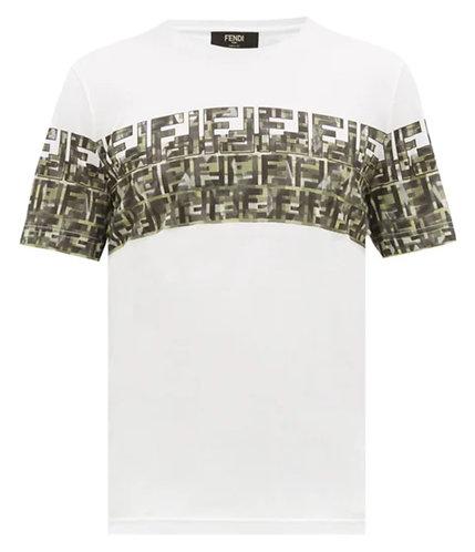 Fendi FF-logo cotton-jersey T-shirt