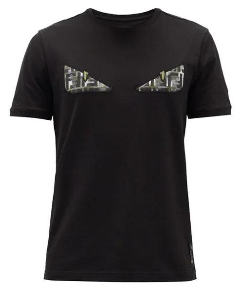Fendi Bag Bugs FF-logo cotton T-shirt