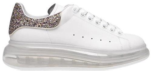 Alexander McQueen Women's Oversized Clear Sneaker - Candy
