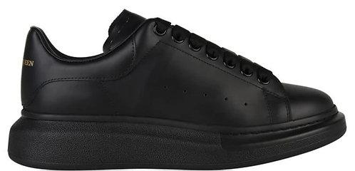 Alexander McQueen Oversized Trainers - Black/Black
