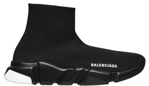 Balenciaga Speed Trainers - Black / Black / White