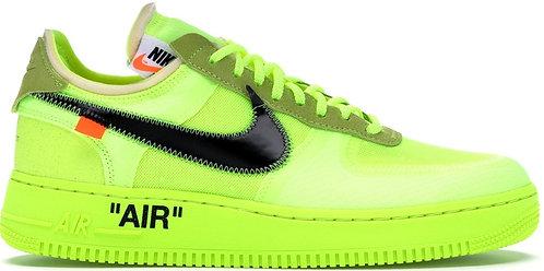 Off White x Nike Air Force1 - Volt