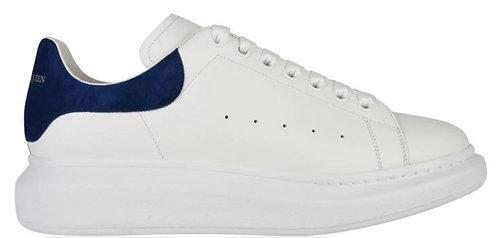 Alexander McQueen Oversized Trainers - White/Blue