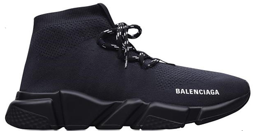 Balenciaga Speed Lace Trainers - Steel Gry