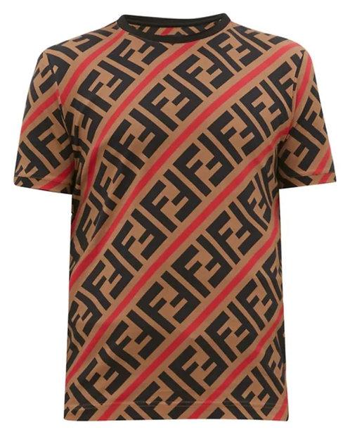 Fendi FF-print cotton T-shirt