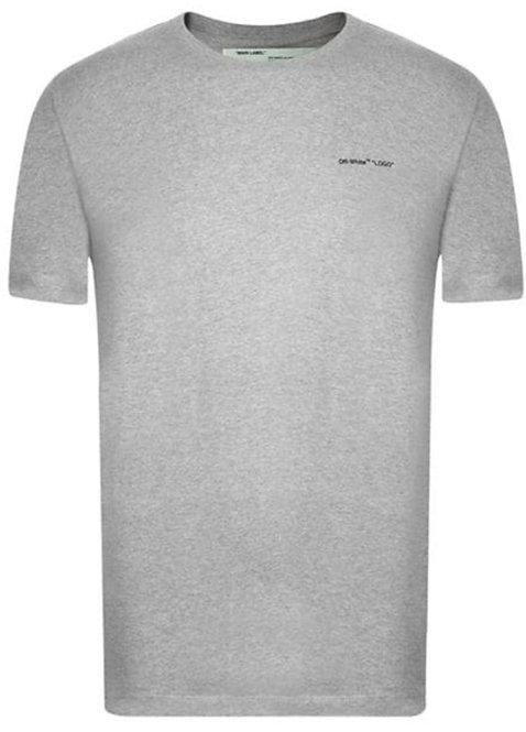 Off-White Logo T-Shirt / Grey