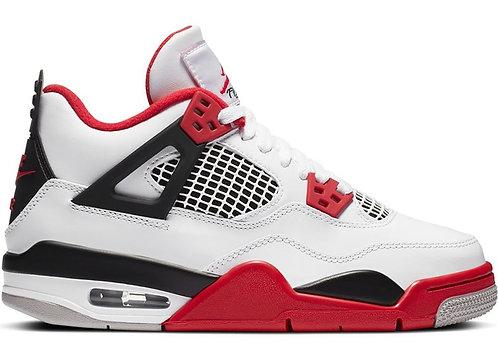 Nike Jordan 4 Retro 'Fire Red' GS