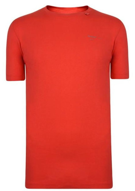 Off-White Unfinished T-Shirt / Red