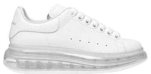 Alexander McQueen Women's Oversized Sneaker - White/White