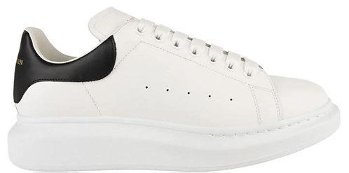 Alexander McQueen Oversized Trainers - White/Black