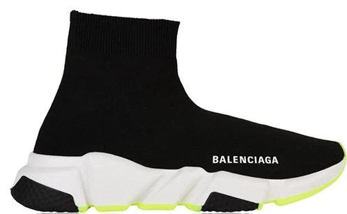 Balenciaga Speed Trainers - Black / Yellow