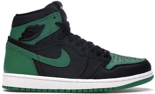 Nike Jordan 1 High 'Pine Green' Black