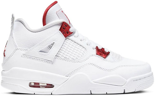 Nike Jordan Retro 4 'Metallic Red' GS