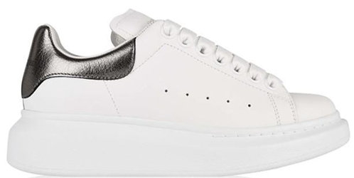 Alexander McQueen Oversized Trainers - White/Pearl