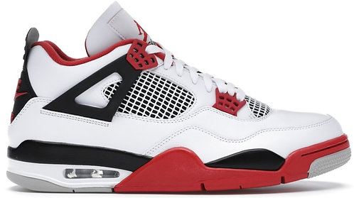 Nike Jordan 4 Retro 'Fire Red'