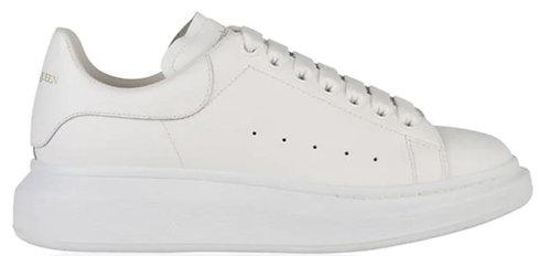 Alexander McQueen Oversized Trainers - White/White