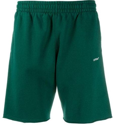 Off-White Caravaggio Shorts - Green