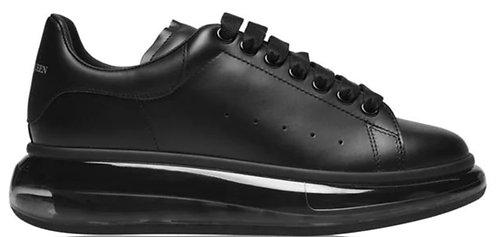 Alexander McQueen Oversized Trainers - Black/Black/Black