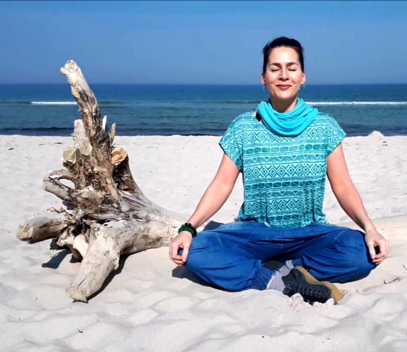 Meditation am Meer 2 galoppierende Gedan