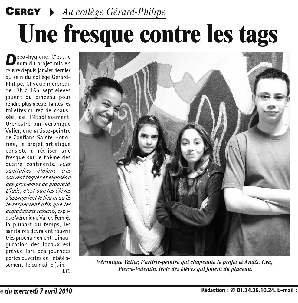 Gazette Du Val dOise avr. 2010