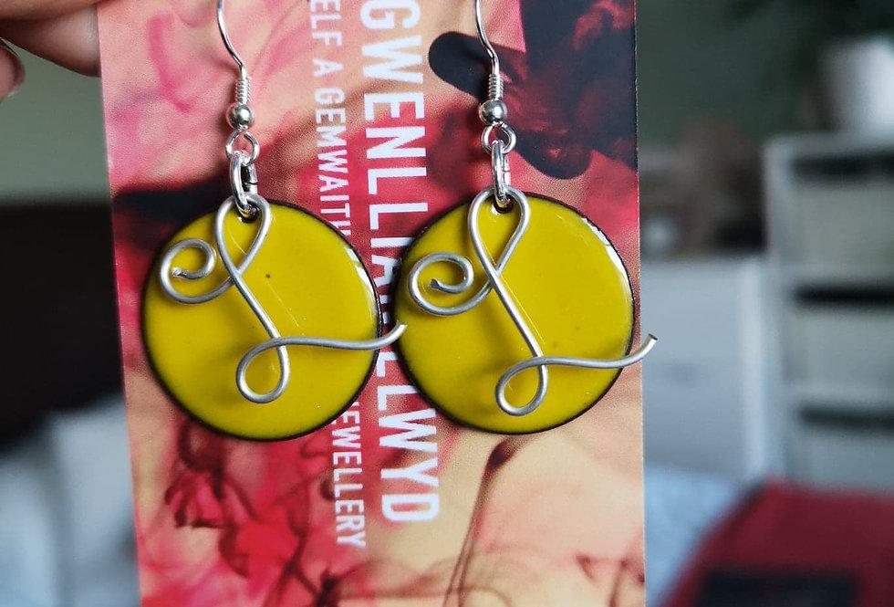 Bespoke Earrings with Letter
