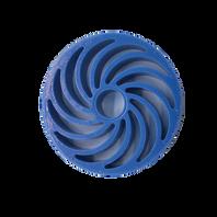 Blue Polyurethane No Crush Roller