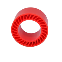 Red Polyurethane Zero Crush Roller.png