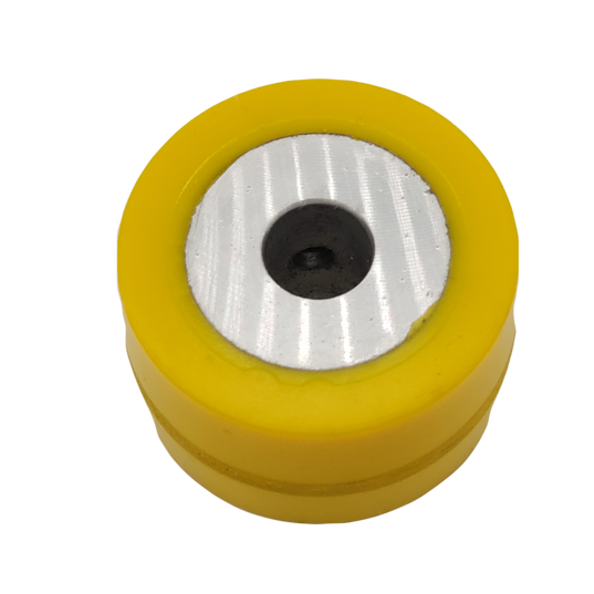 Polyurethane Bonded to Metal Groove Roller