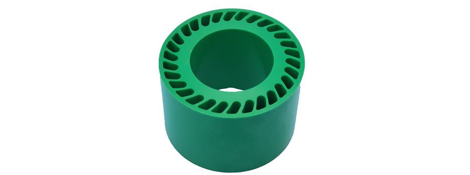Green Urethane No Crush Roller.jpg