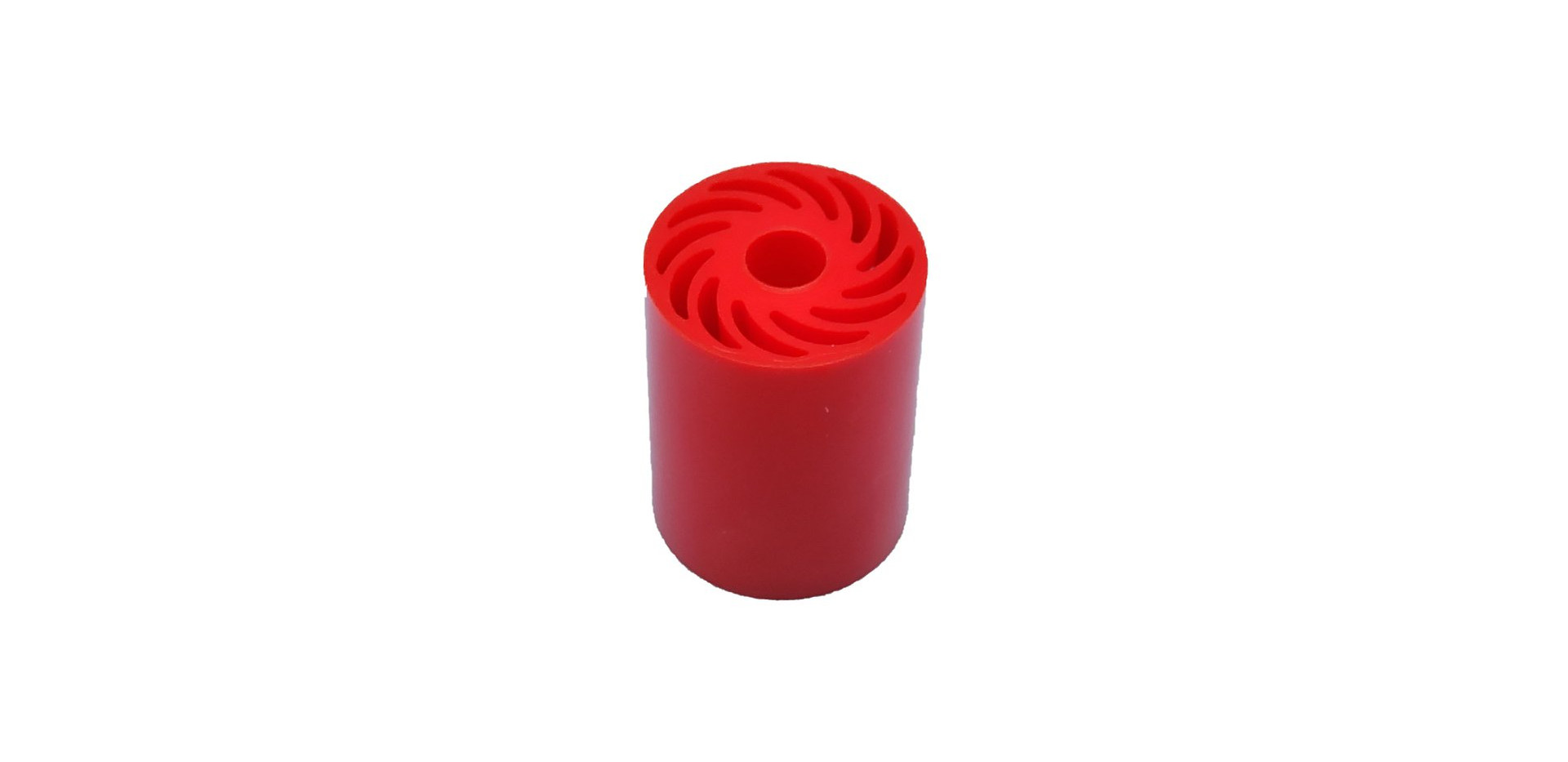 Red Small Urethane No Crush Roller.jpg