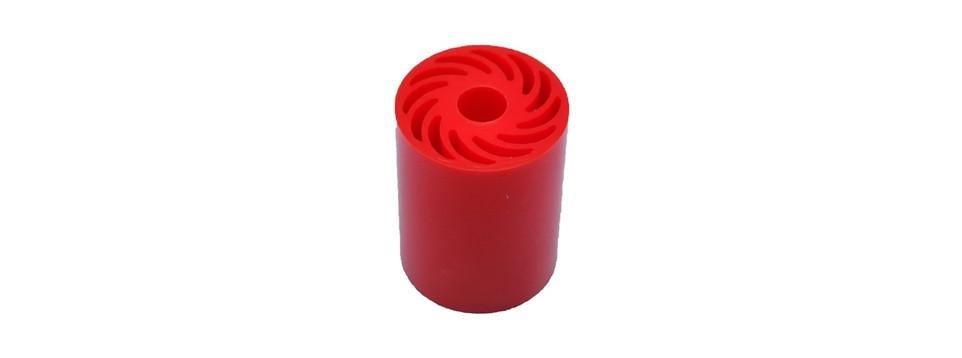 Red Small Urethane No Crush Roller.jpg