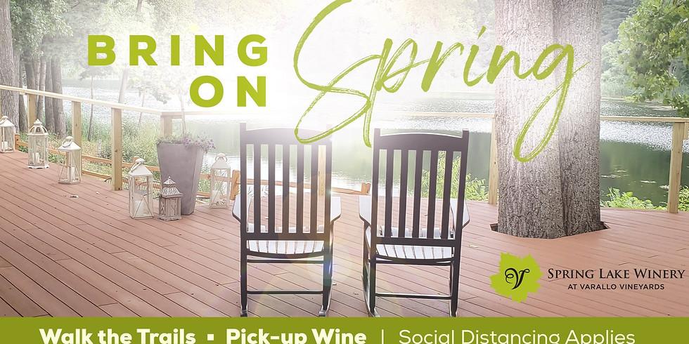 Bring on Spring at Spring Lake Winery