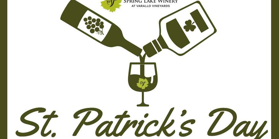 St. Patrick's Day Wine & Whiskey Weekend