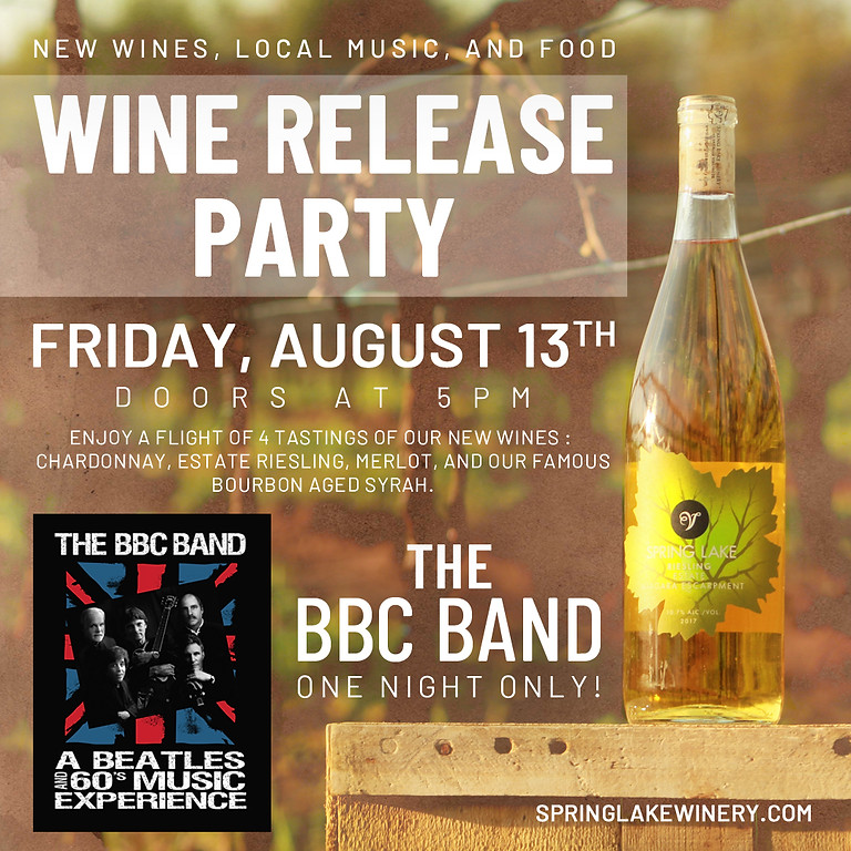 Wine Release Party