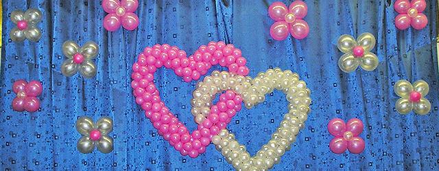 Оформление шарами в Раменское кинотеатр Орбита