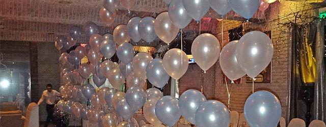 Оформление шарами в Раменское ресторан Конкистадор