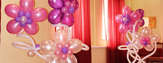 Украшение шарами в раменском ресторан Ред Хаус