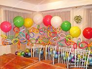 Оформление шарами детских праздников в Жуковский