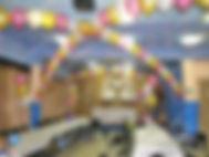 Оформление шарами в Гжели