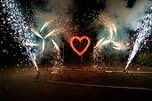 Проведение наземного фейерверка в Воскресенске, Раменское, Коломна, Егорьевск, Гжель, Люберцы, Москва