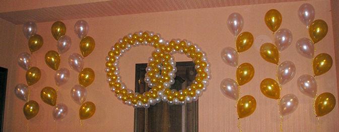 Оформление шарами в Воскресенске Воскресенск, ресторан Легенда